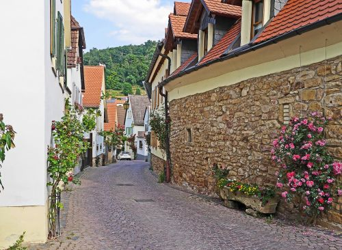 palatinate in the wine-growing town of thoroughfare