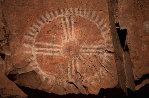 palatki native american rock art ruins