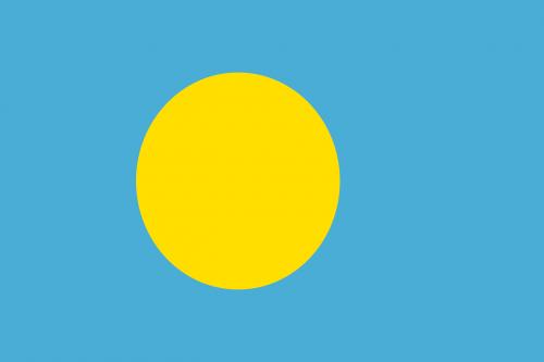 palau flag national flag