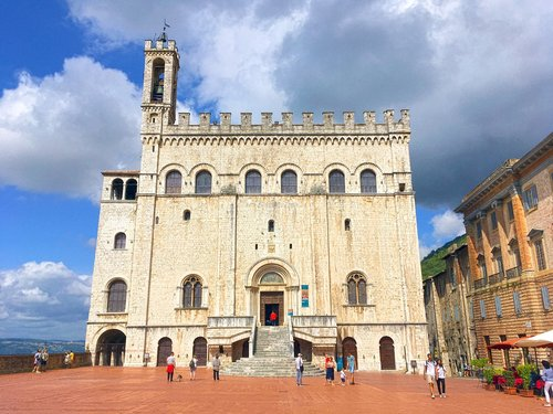 palazzo  monument  the palazzo dei consoli