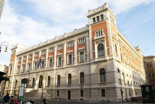 Palazzo Montecitorio In Rome
