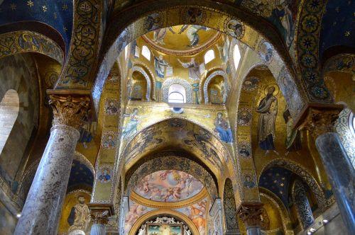 palermo martorana church mosaics
