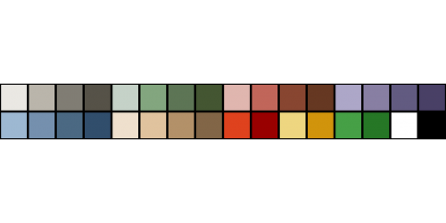 palette color colour