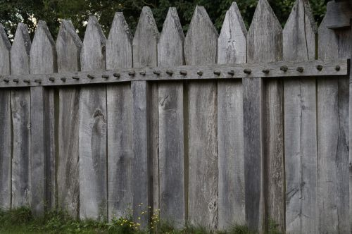 palisade fence boards