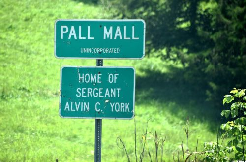 pall mall tn sign pall mall sergeant york hometown