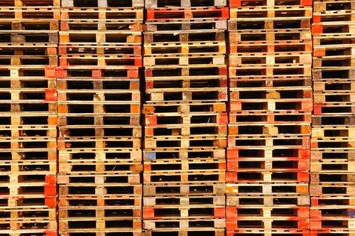 pallets  transport  storage