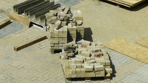 Pallets Of Bricks