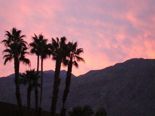 palm springs california mountains