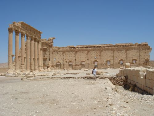 Palmyra, Syria, Colonnade