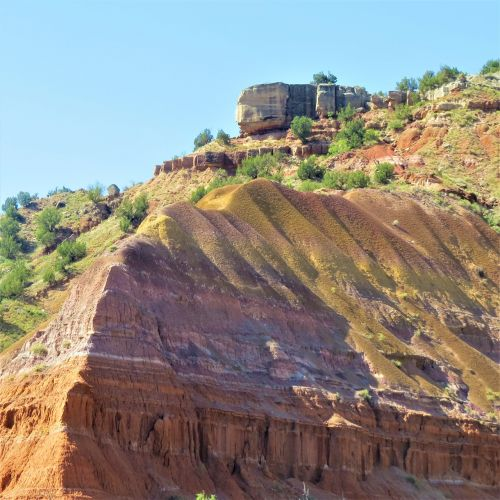 palo duro canyon spanish skirts red sandstone