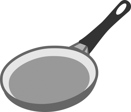 pan frying kitchen