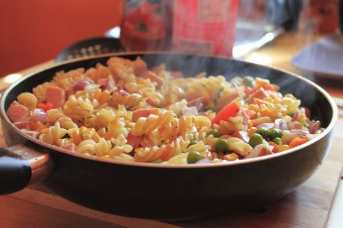 pan noodles fry up