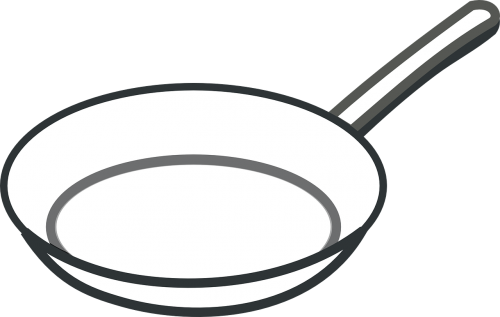 pan frying white