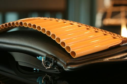 pan flute musical instrument music