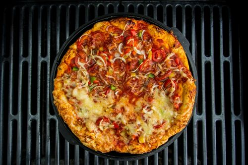 pan pizza pizza grill