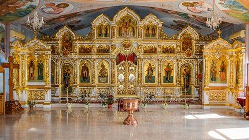 panagia semistrelia  russian  church