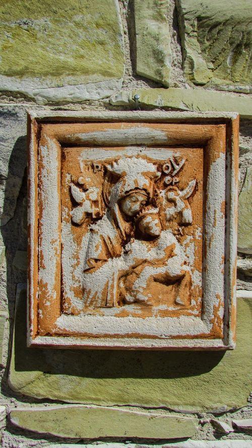 panagia icon stone
