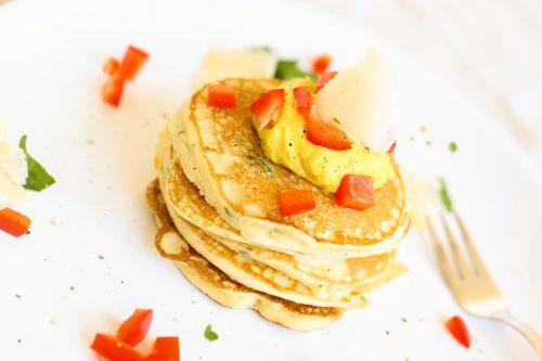 pancake omelette paprika