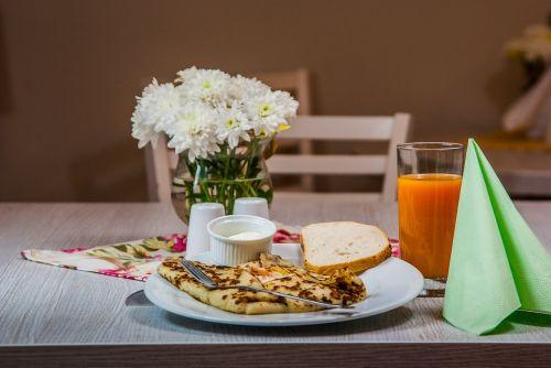 pancake breakfast flowers