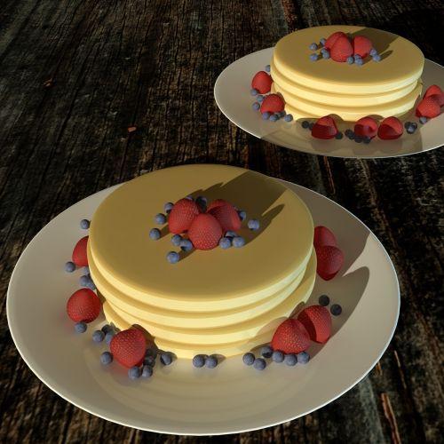 pancake food dessert