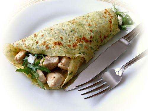 pancake crêpes filled