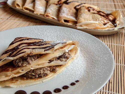 pancakes dessert fine