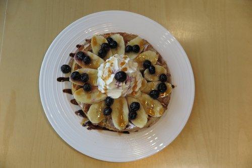 pancakes  cafe  dessert