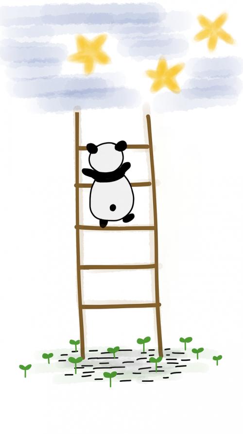 panda ladder stars