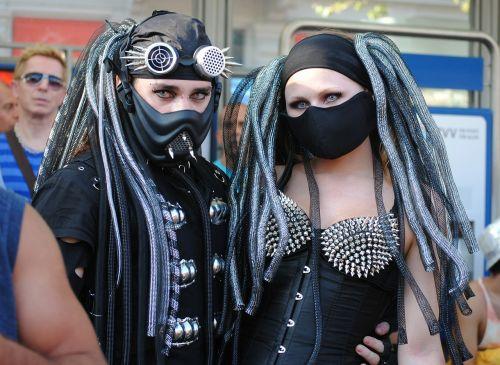panel street parade costume