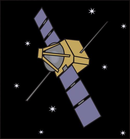 panels probe satellite