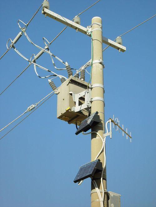 panels solar pole