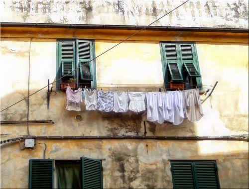 Hung Clothes
