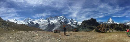 panorama matterhorn zermatt