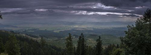 panorama tatry slovakia