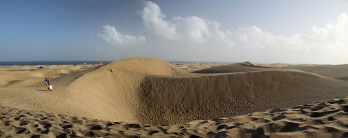 sand dunes gran canaria canary islands