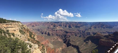 panorama grand canyon valley