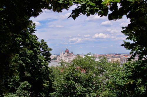 panorama budapest city