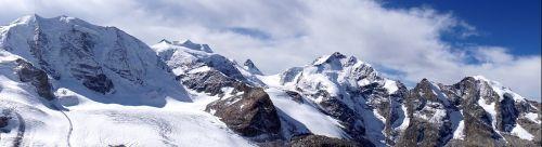 panorama mountains alpine