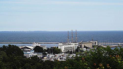 panorama view city