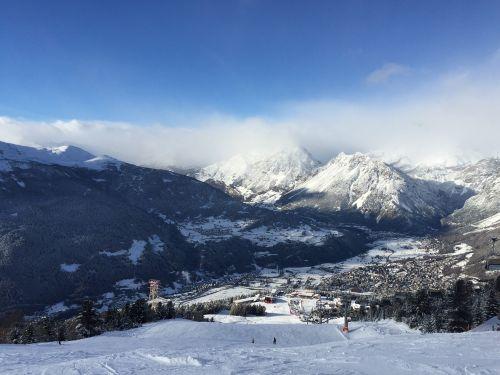 panorama the alps stok