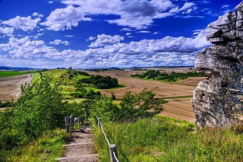 panorama idyll landscape