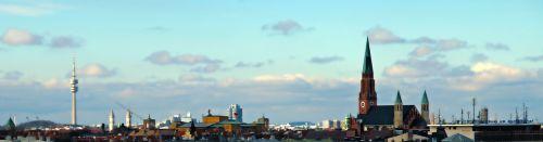 panorama munich olympia tower