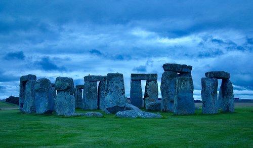 panorama  sky  stonehenge