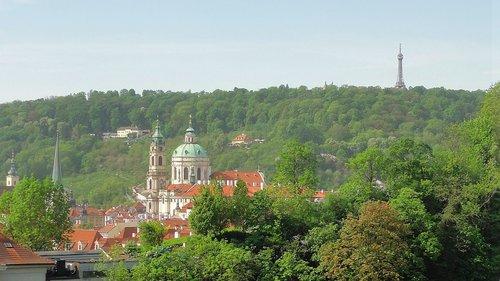 panorama  prague  czechia