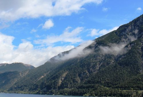 panorama tyrolean alps mood