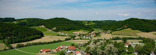 panorama  austria  styria