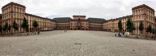 panorama mannheim castle