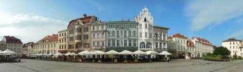panorama market square bydgoszcz