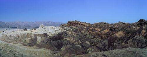 panorama death valley mojave desert california