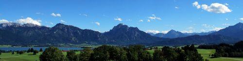 panorama royal angle lake forggensee infant
